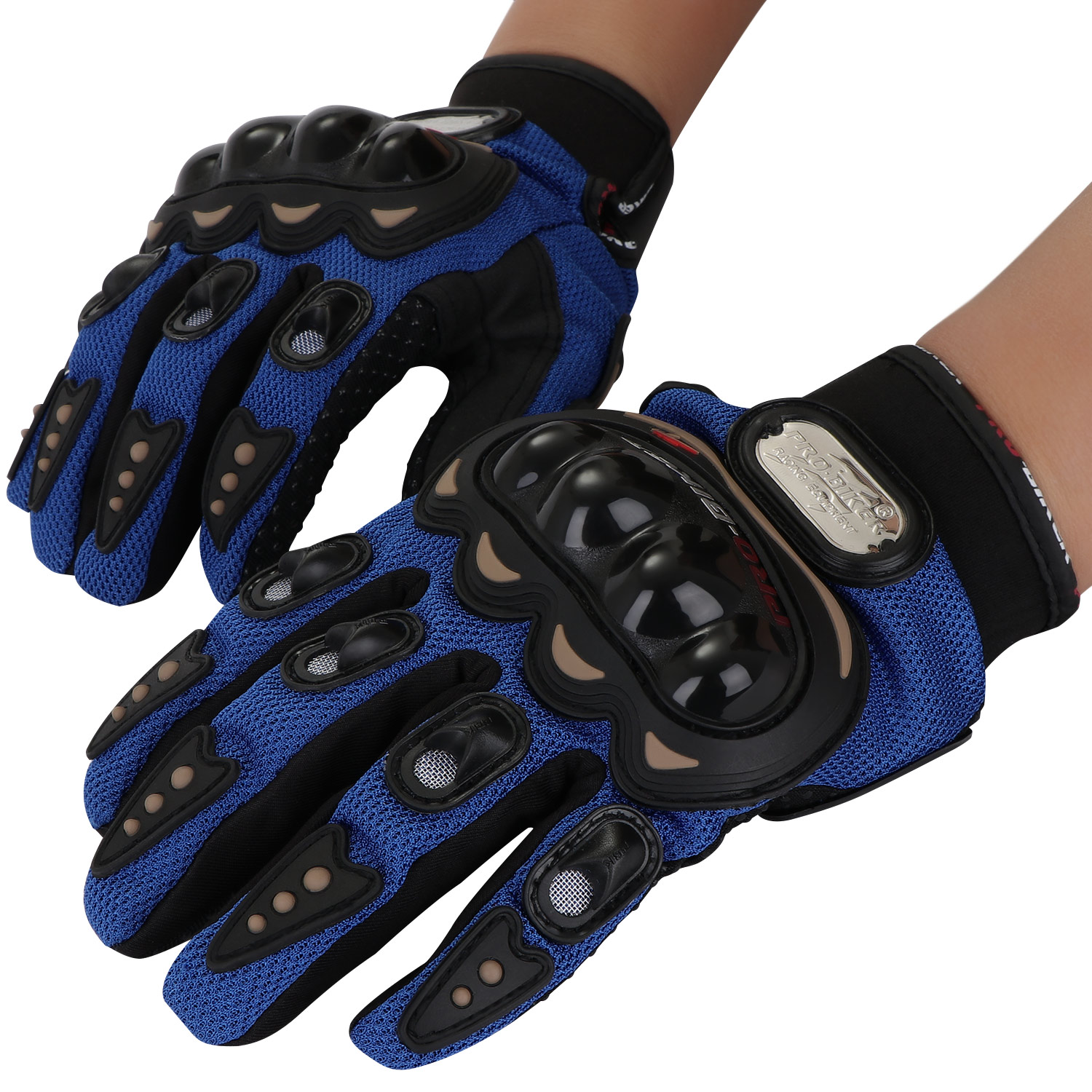 gants moto coque gloves motorcycle vtt trail protection gears racing motocross ebay. Black Bedroom Furniture Sets. Home Design Ideas