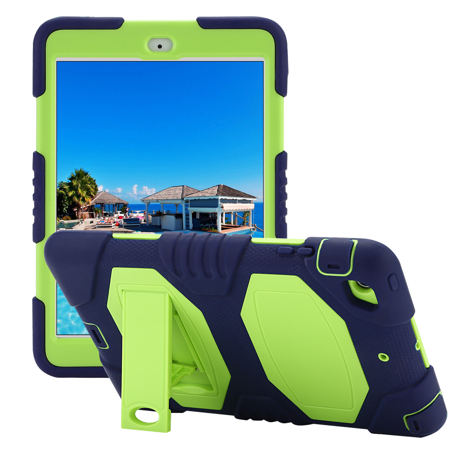 Navy-Green-iPad-mini-2-Case-for-Apple-Kickstand-Shockproof-Cover-NEW-YEAR-GIFTS