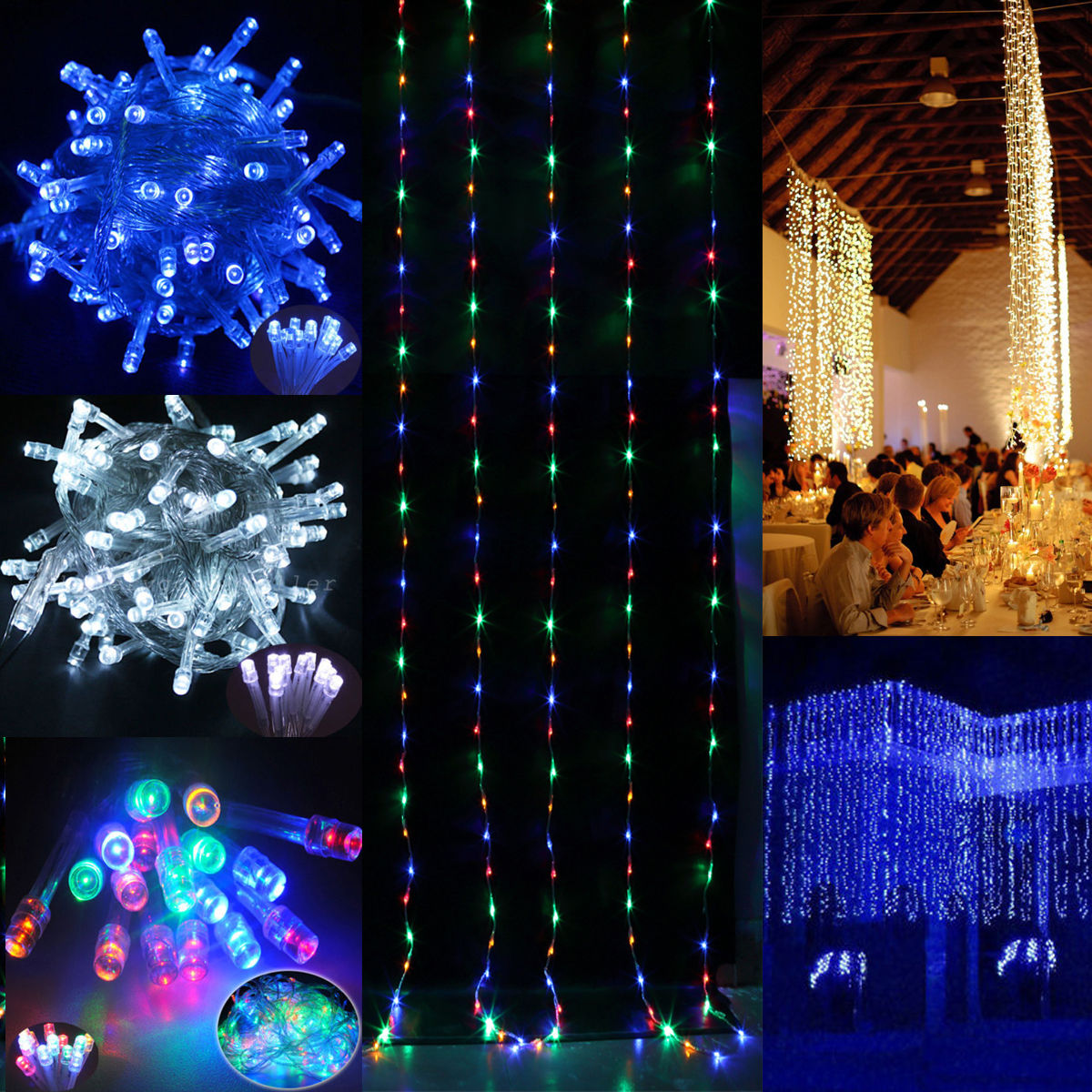 Outdoor Party Lights Au: 30M/100M/200M FAIRY LED String Christmas Lights Outdoor
