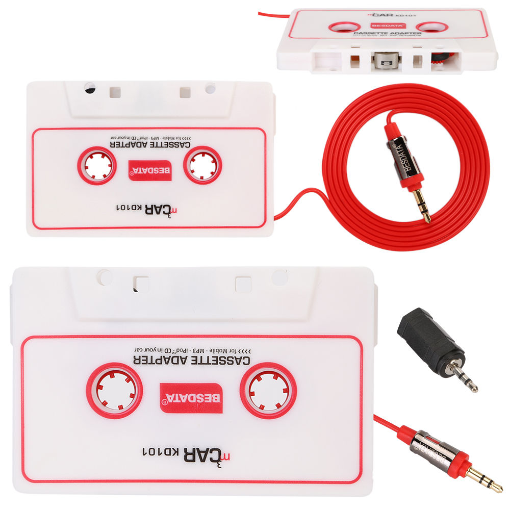 Car Auto Tape Cassette For Ipod Mp3 Iphone 35 25mm Jack Connection 2 5mm Wiring