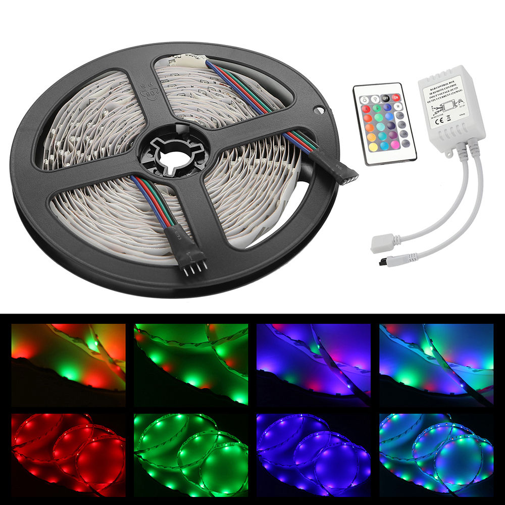20m 15m 10m 5m led 5050 3528 rgb strip light kit flexible dimmable waterproof ebay. Black Bedroom Furniture Sets. Home Design Ideas