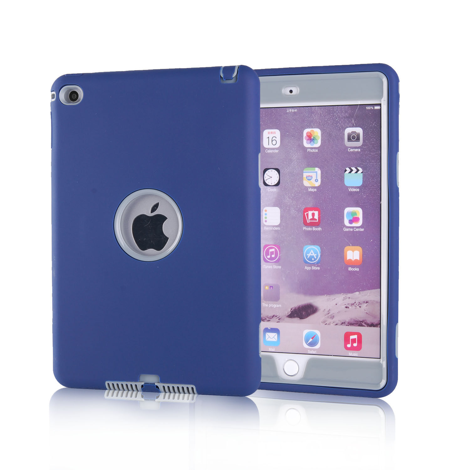 sale retailer 5046f 470dd Details about Heavy Duty Kids Hybrid Shock Dirt Proof Case Cover for Apple  iPad 4 3 2/mini/Air