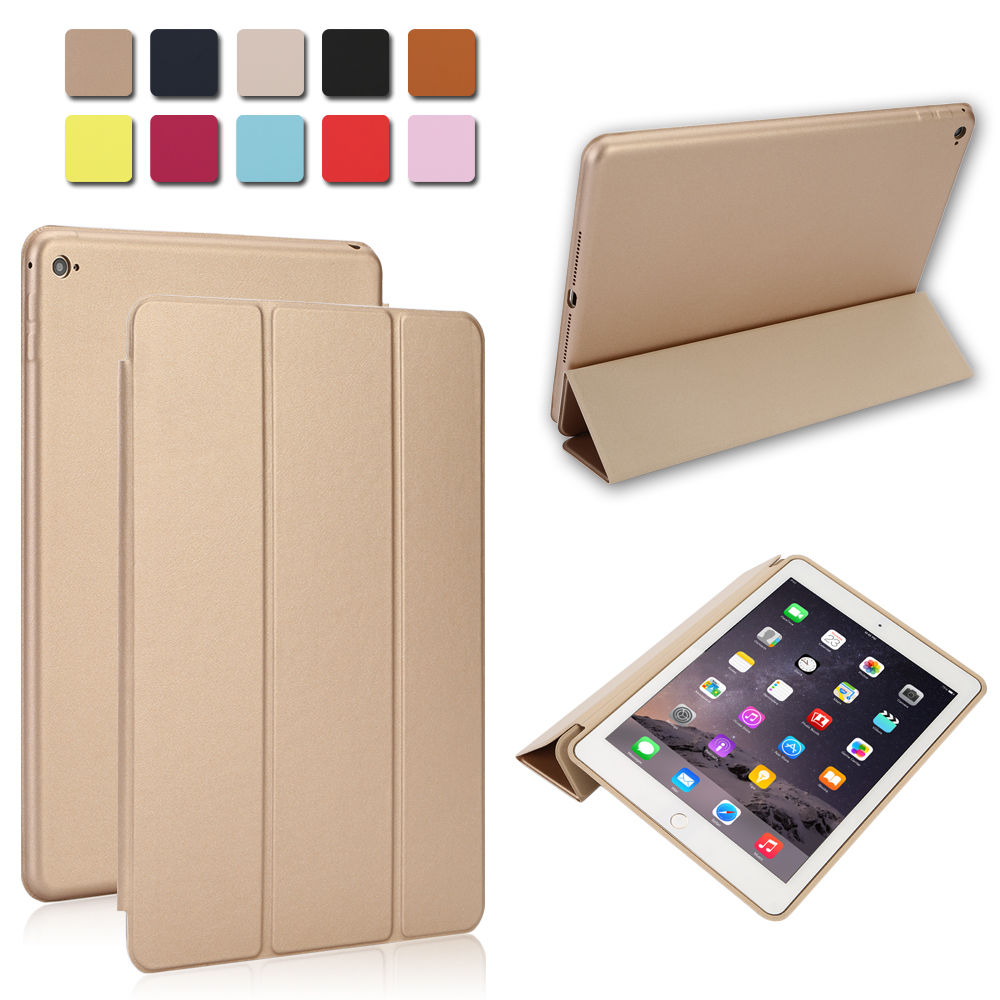 timeless design 18bef 4483c Details about Luxury Slim Smart Leather Stand Cover Silicone Back Case for  iPad mini/Air