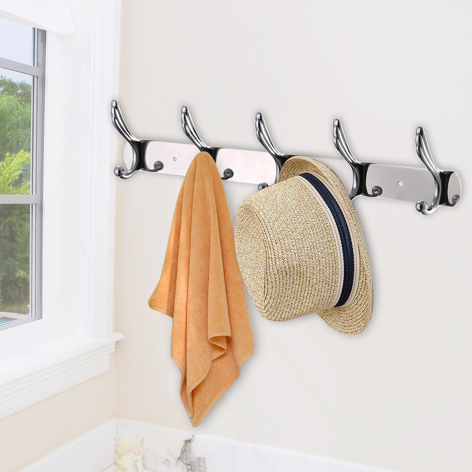 hook wood iron hooks listing wrought il cast mounted with fullxfull rack coat wall