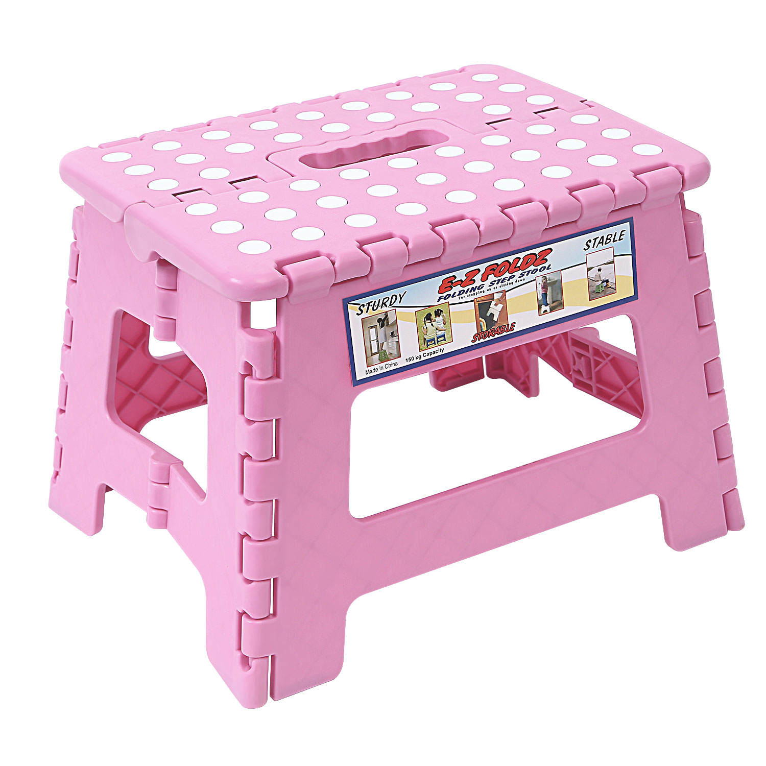 Stepping stool for toddlers kids bathroom kitchen foldable step ladder anti slip ebay Bathroom step stool for kids