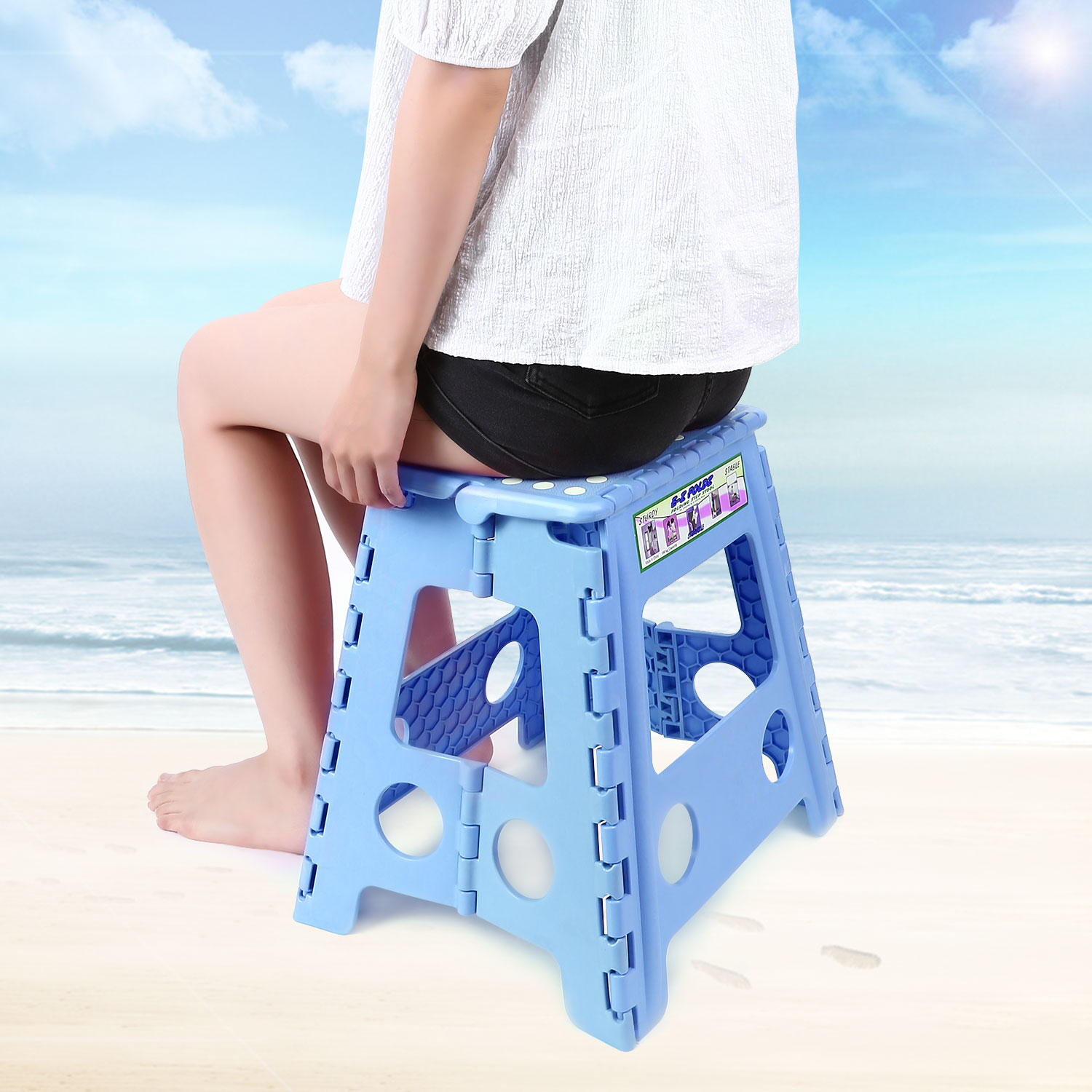 Toddlers Kids Adults Folding Step Stool For Bathroom