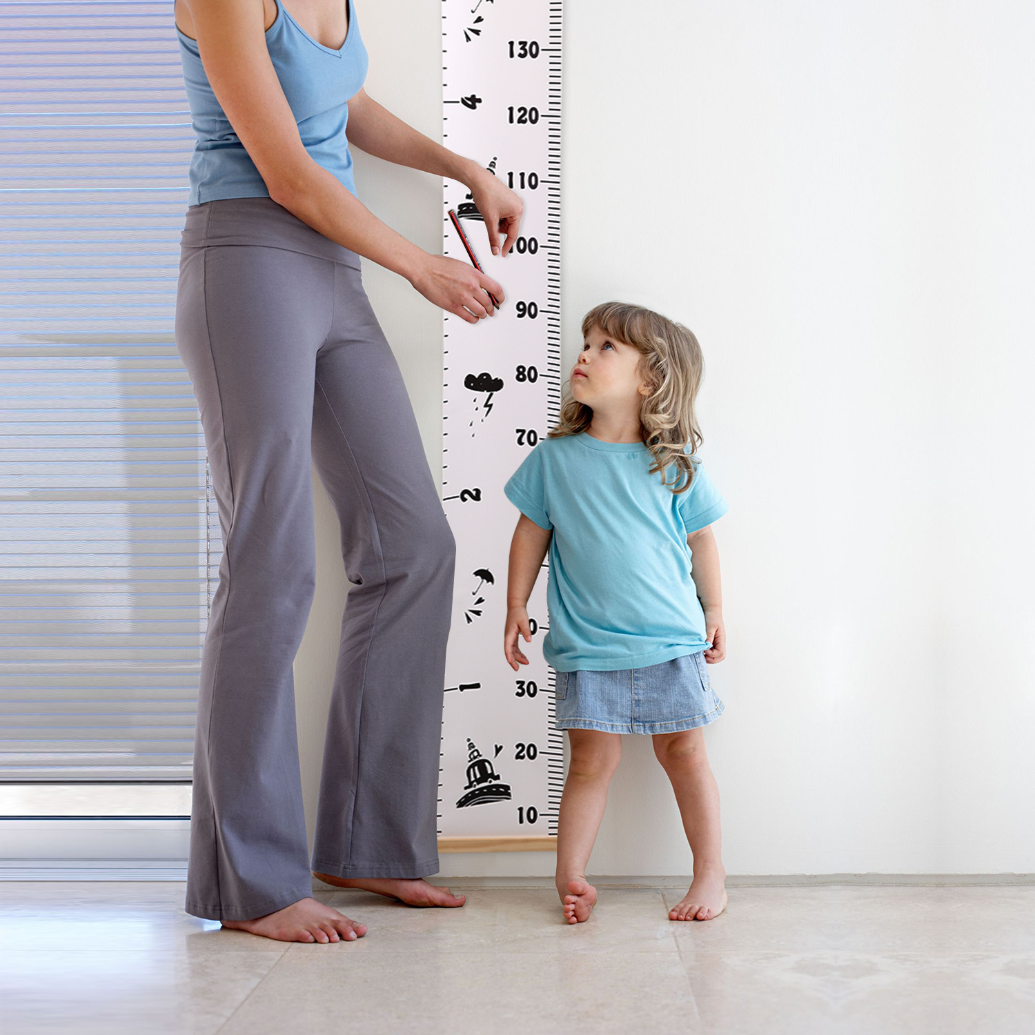 Wall hanging ruler kids baby height growth chart nursery child room wall hanging ruler kids baby height growth chart geenschuldenfo Gallery