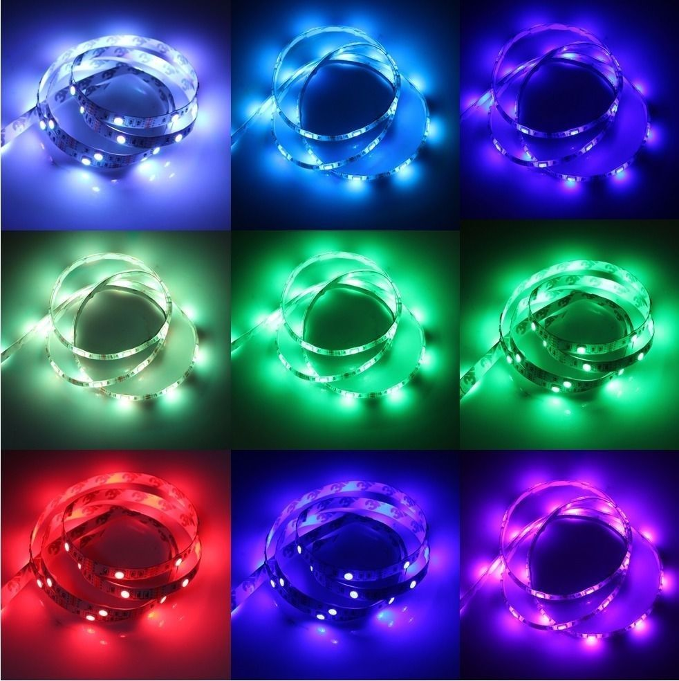 Top 5v 5050 bright led usb led strip lights tv back light rgb colour top 5v 5050 bright led usb led strip aloadofball Choice Image