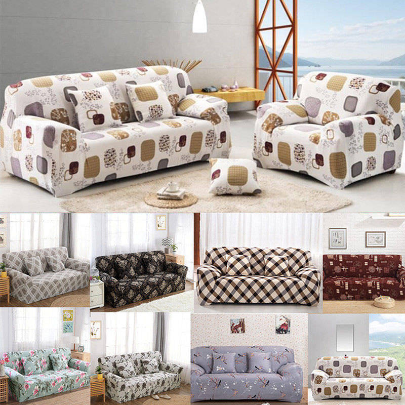Reversible Quilted Sofa Cover Furniture