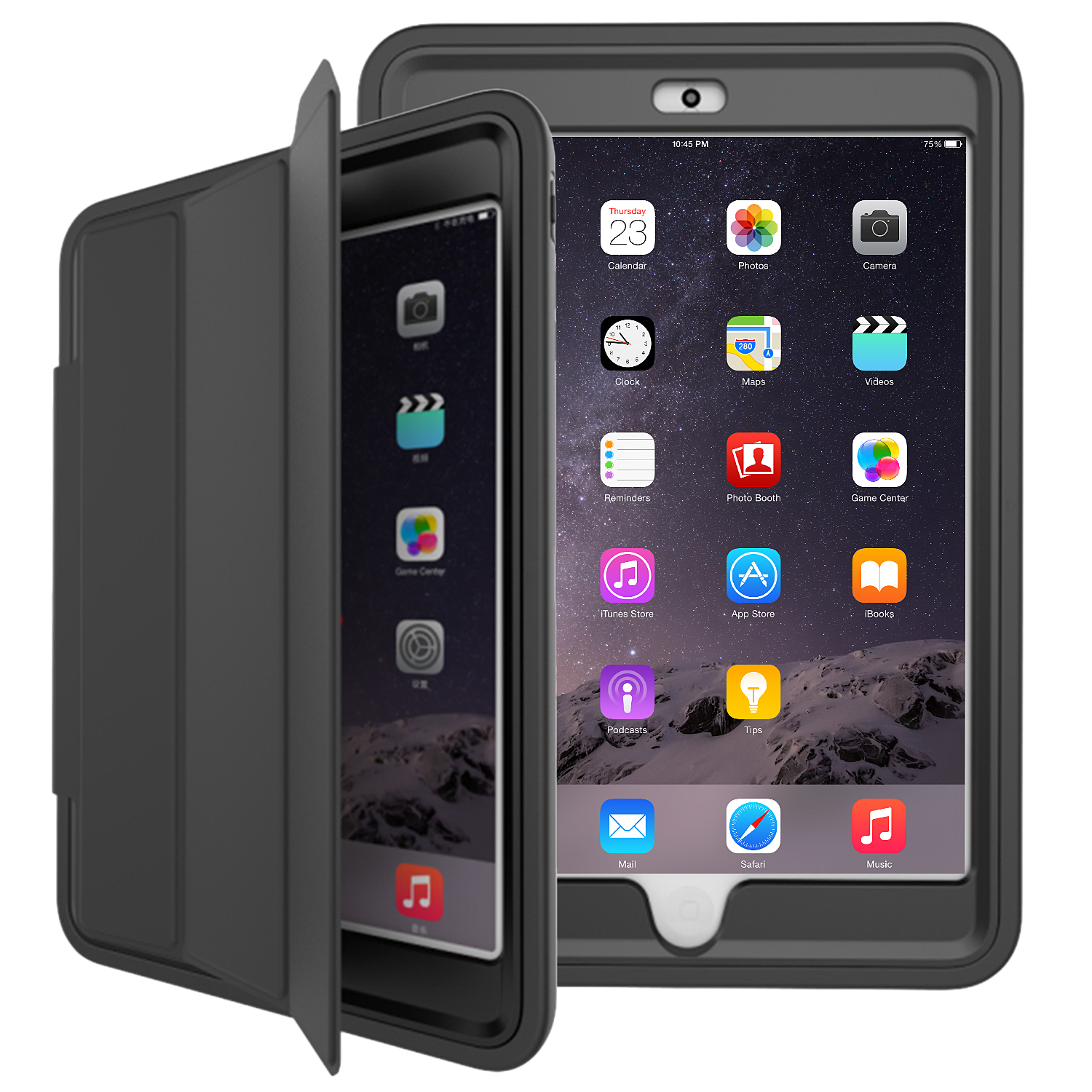 Heavy Shockproof Smart Flip Stand Lot Case Cover for iPad 2 3 4/Mini ...