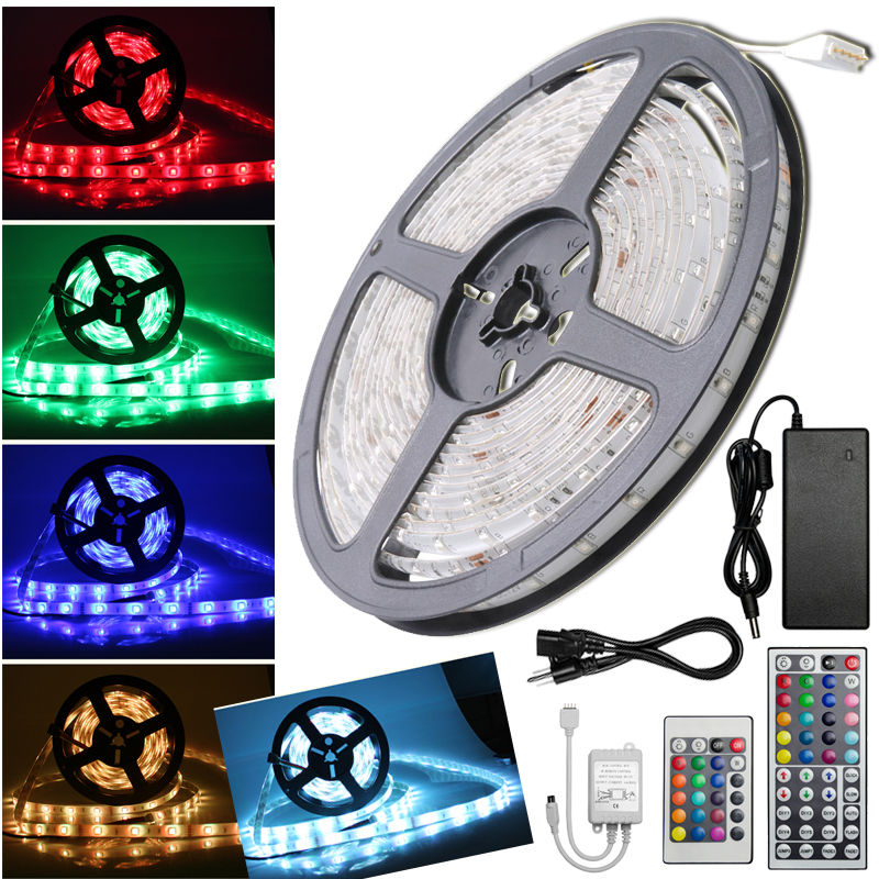 5m 300 led strip light 35285050 smdrgb ribbon tape roll image is loading 5m 300 led strip light 3528 5050 smd mozeypictures Image collections