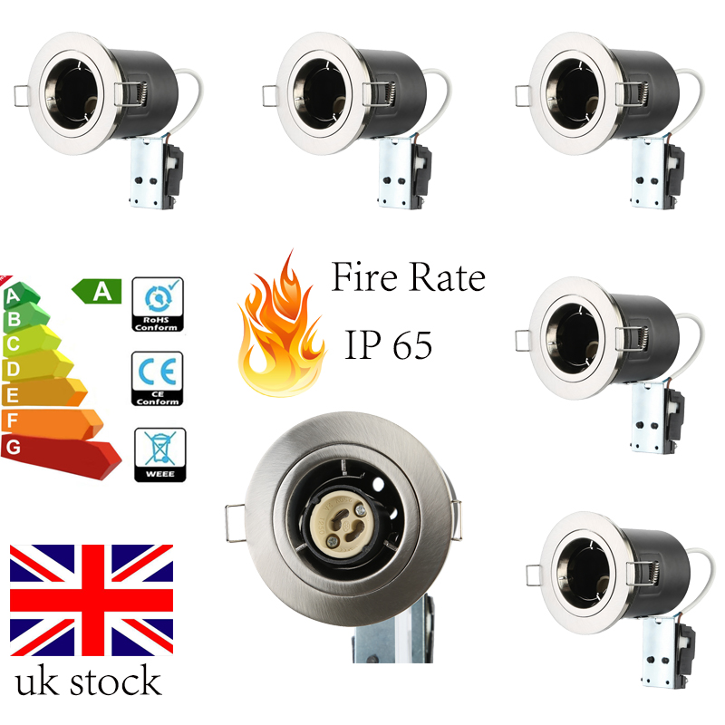Image Is Loading Nx Fire Rated Fixed Or Tilt Led Gu10