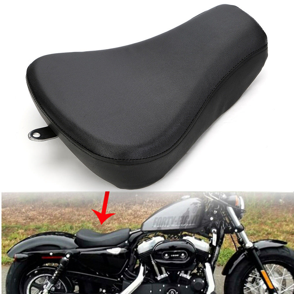 Rider Motorcycle Front Solo Seat Cushion For Harley ...